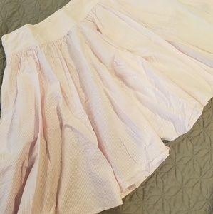 Ralph Lauren seersucker skirt